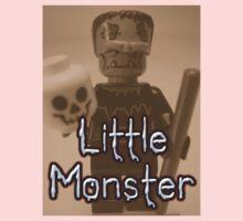 Little Monster Frankensteins Monster Custom Minifig One Piece - Long Sleeve