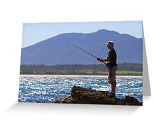 Bermagui  Greeting Card