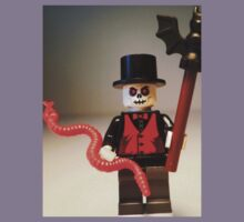 Voodoo Priest / Witch Doctor Zombie Custom Minifig Kids Clothes