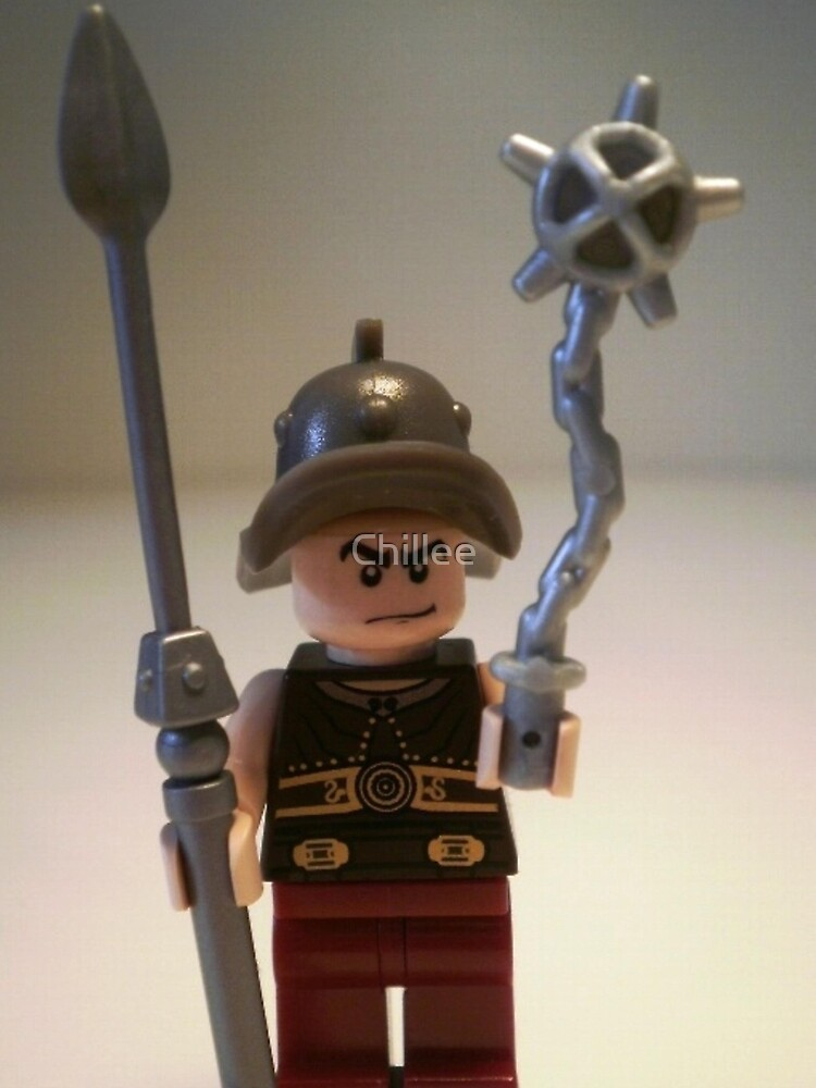 Gladiator 'Cracalla the Gladiator' Custom Minifigure by Customize My Minifig