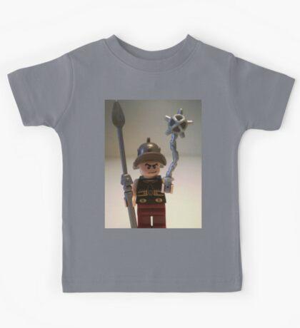 Gladiator 'Cracalla the Gladiator' Custom Minifigure Kids Tee