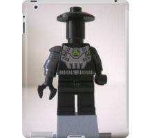 Custom Cyber Droid Shadow Soldier Minifig iPad Case/Skin