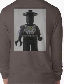 Custom Cyber Droid Shadow Soldier Minifig Long Sleeve T-Shirt