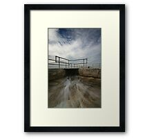 Merewether Baths 5 Framed Print