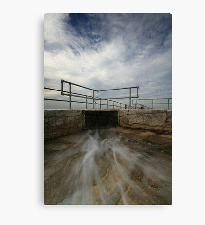 Merewether Baths 5 Canvas Print