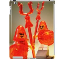 Ching Dynasty Chinese Warrior Custom Minifig iPad Case/Skin