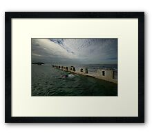 Merewether Baths 8 Framed Print