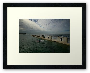 Merewether Baths 8 by Mark Snelson