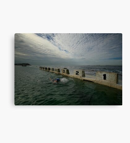 Merewether Baths 8 Canvas Print