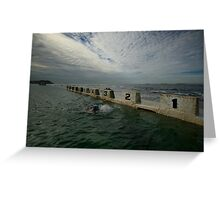 Merewether Baths 8 Greeting Card