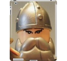 Mongolian Warrior Chief Custom Minifig iPad Case/Skin