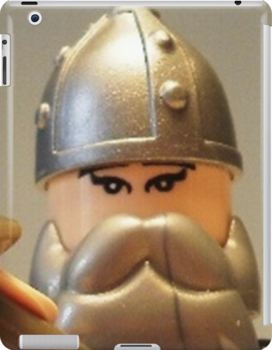 Mongolian Warrior Chief Custom Minifig by Customize My Minifig