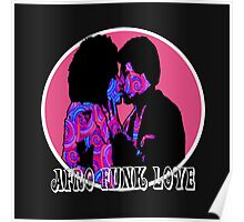 Spirals in Afro Funk Love Poster