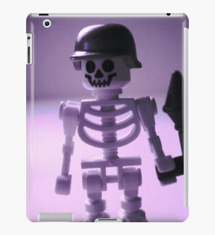 Skeleton Army Custom Minifigure Helmet & Bazooka iPad Case/Skin