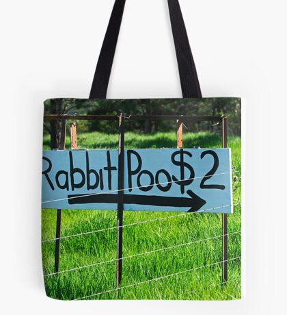 Rabbit Poo Tote Bag
