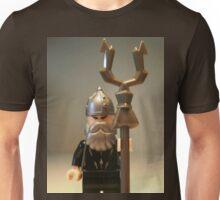 Mongolian Warrior Chief Custom Minifigure Unisex T-Shirt