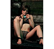 Fiona Cuffed and Shackled Photographic Print