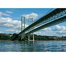Sunlit Bridgespan Photographic Print