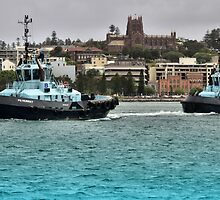 Newcastle PB Tugs by Phil Woodman
