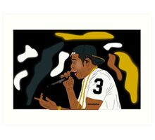 Jay Z- The Performance Art Print