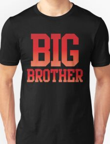 BIG BROTHER in red T-Shirt
