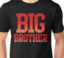 BIG BROTHER in red Unisex T-Shirt