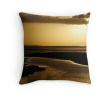 Erskine River and Split Point Throw Pillow