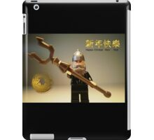 Happy Chinese New Year Greeting Card iPad Case/Skin