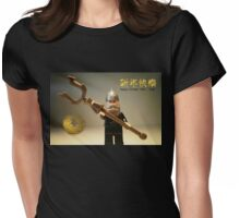 Happy Chinese New Year Greeting Card Womens Fitted T-Shirt