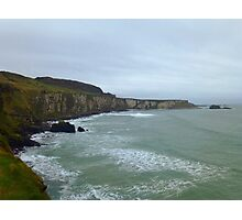 Cliffs on the Northern Irish Coast Photographic Print
