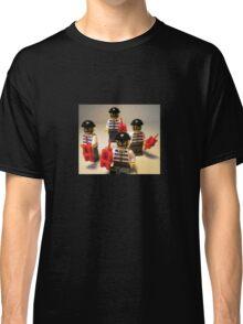 Convict Prisoner City Minifigure with Dynamite Sticks Classic T-Shirt