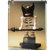 Egyptian God Anubis Skeleton Statue Custom Minifig iPad Case/Skin