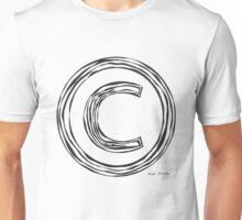 LINEart T-shirt : COPYRIGHT Unisex T-Shirt