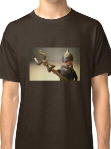 Mongolian Warrior Chief Custom Minifigure Classic T-Shirt