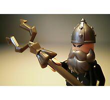 Mongolian Warrior Chief Custom Minifigure Photographic Print