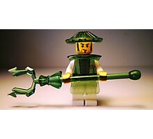 Ching Dynasty Chinese Warrior Custom Minifigure Photographic Print