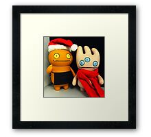Wage & Tray Xmas Framed Print