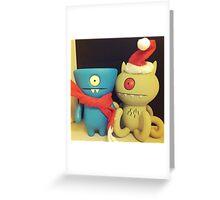 Wedgehead & Target Xmas Greeting Card