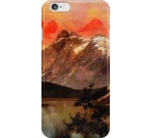 The Mountains King (Kongen), Queen (Dronningen) and Bishop (Bispen), in Møre og Romsdal County, Norway iPhone Case/Skin