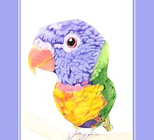 Colorful Bird by Mariana Musa