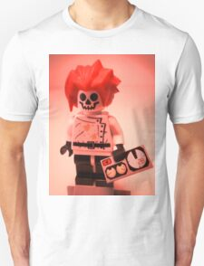 Professor Boom Custom Minifigure with Bomb T-Shirt
