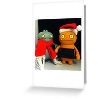 Babo & Wage Xmas Greeting Card