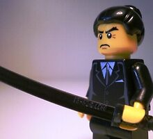 Japanese Yakuza Gokudō Gangster Custom Minifigure by Customize My Minifig