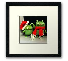 Ox & Jeero Xmas Framed Print