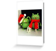 Ox & Jeero Xmas Greeting Card