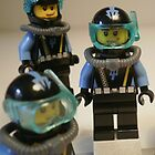 Diver 1 Minifigure by Chillee