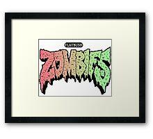 FLATBUSH ZOMBIES ARC DARCO ELIOT Framed Print