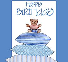 Teddy Bear and Cushions Birthday by mrana