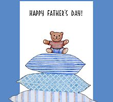 Teddy Bear and Cushions Father's Day by mrana