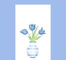 Blue Vase by Mariana Musa